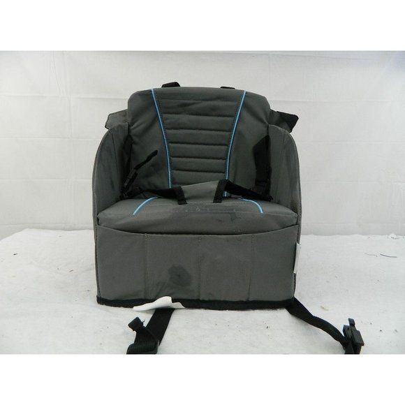 Folding travel booster chair high chair toddler